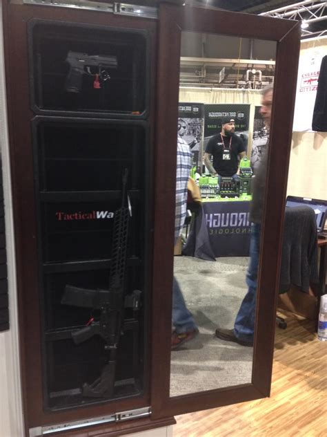 Tactical Walls Mirror Gun Safe Review 3 Ways To Hide Your