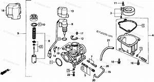 Honda Scooter 1988 Oem Parts Diagram For Carburetor