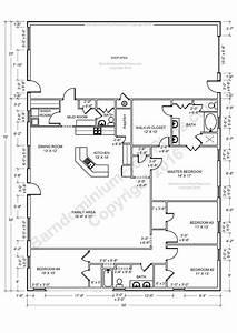 beast metal building barndominium floor plans and design With 40x60 shop floor plans