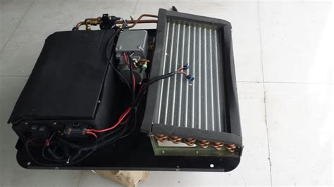 dc battery powered  portable air conditioner rooftop