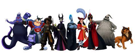 villains kingdom hearts wiki  kingdom hearts