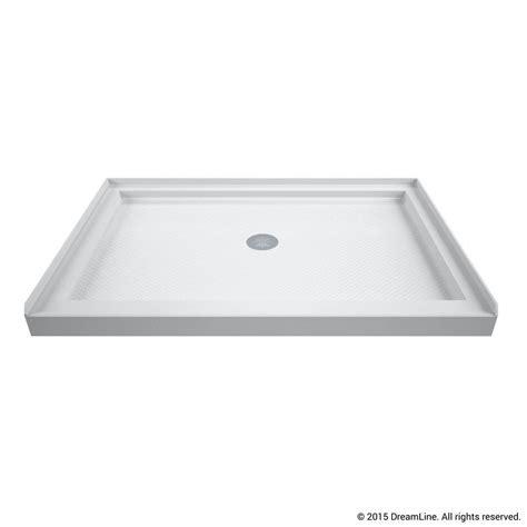 Shower Pans - dreamline slimline 32 in x 48 in single threshold shower