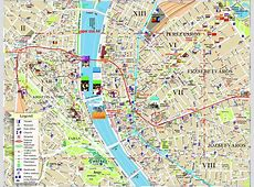 Large Budapest Maps for Free Download and Print High