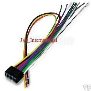 Kenwood Excelon Pin Radio Stereo Wiring Harness Cable