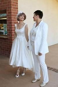 lesbian wedding ideas on pinterest lesbian wedding two With lesbian wedding attire ideas