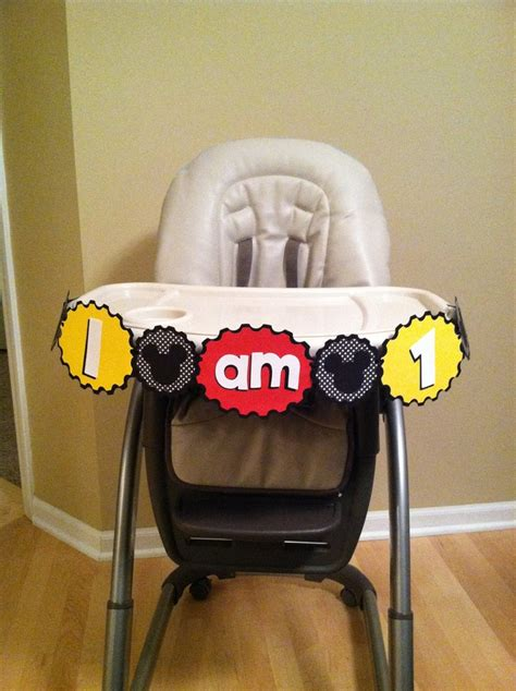 Mickey Mouse High Chair Decorations - 25 best ideas about mickey mouse high chair on