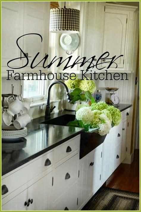summer farmhouse kitchen stonegable