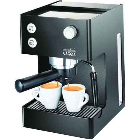 coffee espresso machine gaggia espresso cubika plus ri8151 60 coffee machine maker black