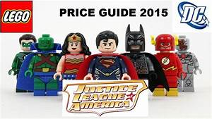 Justice League Lego Minifigures Price Guide Valuations