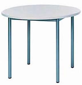 Tisch Rund 100 Cm : tisch rundrohr 40 mm rund 100 cm ~ Bigdaddyawards.com Haus und Dekorationen