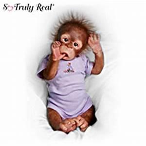 So Truly Real Monkey Dolls The Ashton Drake Galleries