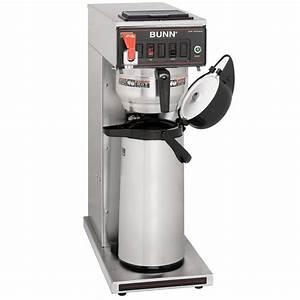 Bunn Commercial Coffee Maker Instructions