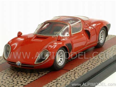 tecnomodel Alfa Romeo 33/2 Stradale 1967 (Red) Limited ...