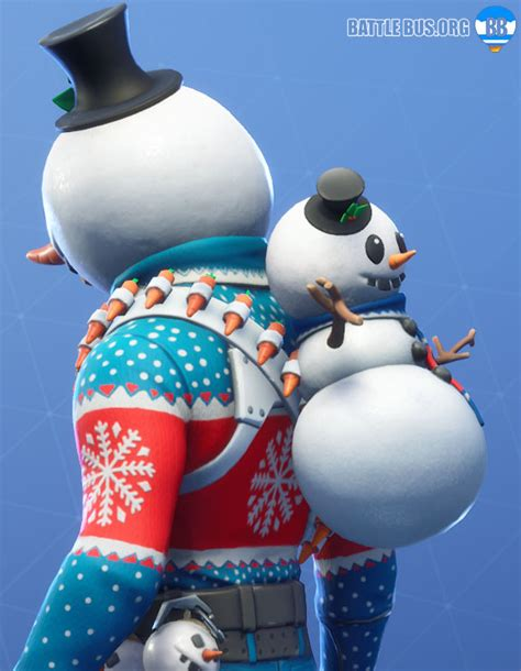 christmas skins arrive  fortnite slushy soldier icicle