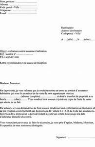 Modele Lettre Resiliation Assurance Moto Pour Vente : mod le de lettre r siliation assurance habitation vente d un appartement actualit s ~ Gottalentnigeria.com Avis de Voitures