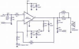 50 Watt Audio Amplifier Based On Lm3876  Low Noise  Good