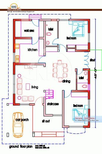 awesome  sq ft house plans indian houses  sq ft