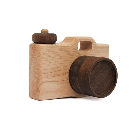 wooden toys camera wood toy imaginative play pretend camera toy
