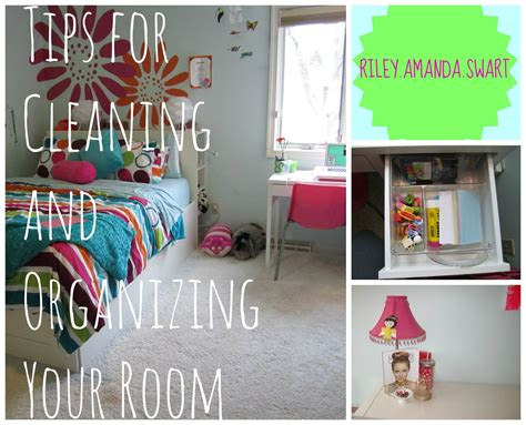 tips for cleaning and organizing your room