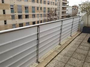 Balcon Pare Vue : brise vue et brise vent plexiglas protection plexi sur ~ Premium-room.com Idées de Décoration