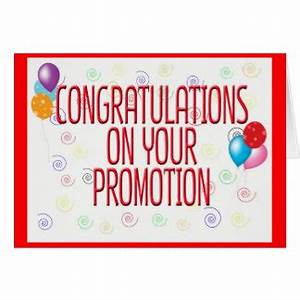 Congratulations On Promotion Gifts - T-Shirts, Art ...