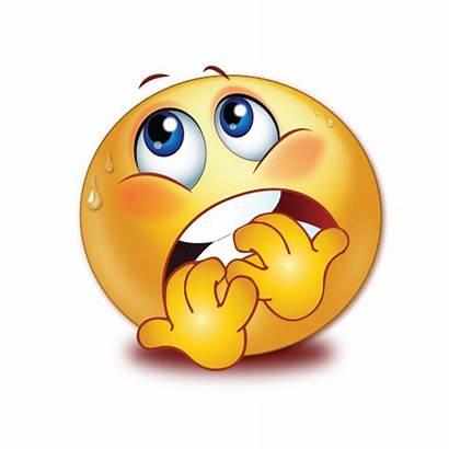 Emoji Scared Smiley Transparent Fear Sweating Emoticon