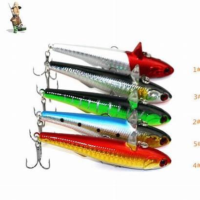 Fishing Lure Plastic Saltwater Hard Pike Dog