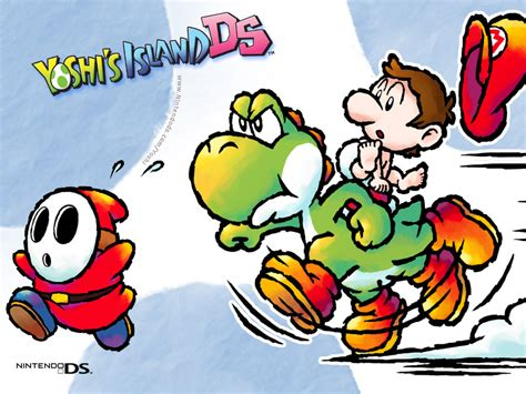 Tmk Downloads Images Wallpaper Yoshis Island Ds Nds