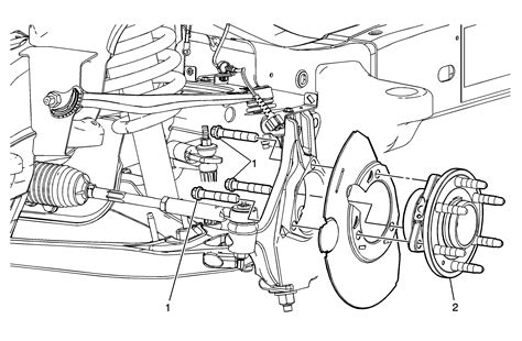 2004 Chevy Silverado Front End Part Diagram by I Need To Replace The Front Axle Bearing On My 2000 Chevy