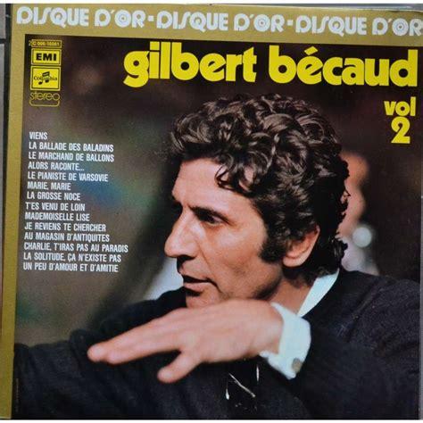 BÉcaud Gilbert  Beaucoup De Bécaud  20 Chansons