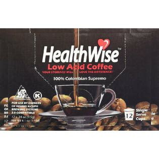 If all the results of non acidic instant coffee are not working with me, what should i do? HealthWise Low Acid Coffee for Keurig K-Cup Brewers, 100% ...