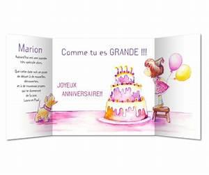 Gateau Anniversaire Petite Fille : carte anniversaire petite fille et g teau planet ~ Melissatoandfro.com Idées de Décoration