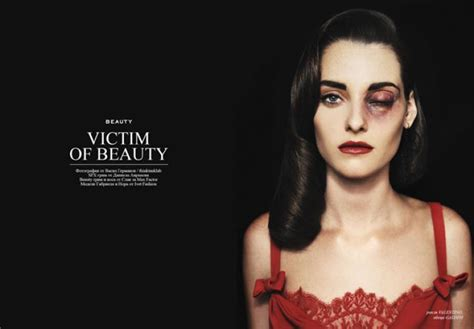 Fashion Shoot Shows Models Beaten, Bloody