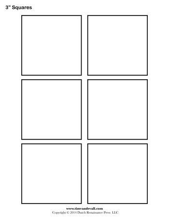 printable square template sheet templates printable