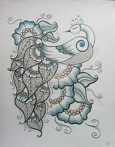 Henna Peacock 1 by MSBoyd on DeviantArt