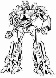 Amazing Optimus Prime in Transformers Coloring Page ...