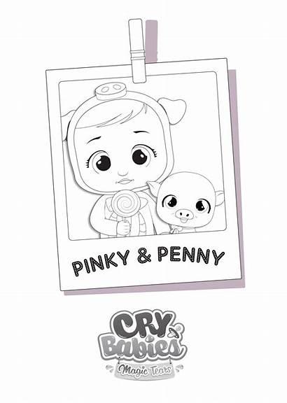Colorir Tears Magic Vamos Cry Babies Pinky