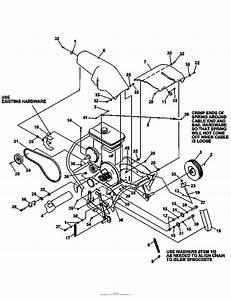 Bunton  Bobcat  Ryan 544908a Lawnaire Iv 4hp Honda Parts