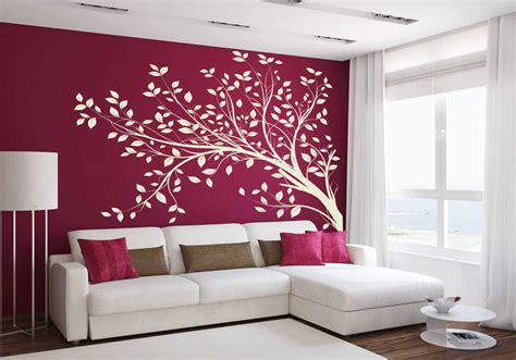 tree branch blowing wall decal tree wall decal sticker
