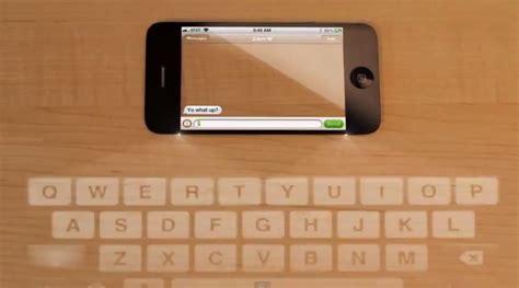 iphone 5 keyboard iphone 5 concept stunning transparent display