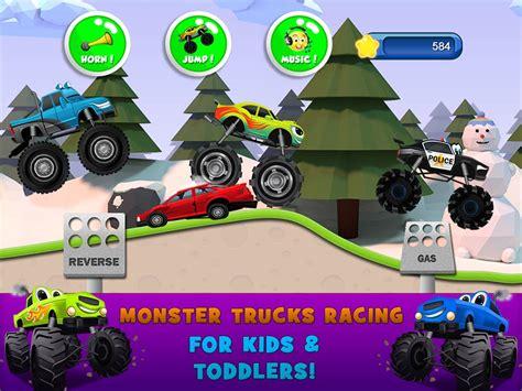monster truck games videos for kids monster trucks game for kids 2 apk download free