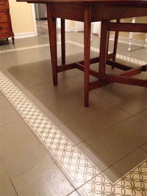 painted tile floor slone chalk paint linen