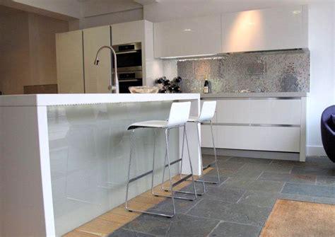 display white gloss euromobil kitchen island