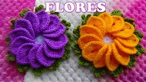 Top Como Tejer Flores En Crochet Wallpapers