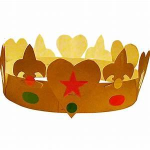 Couronne En Papier à Imprimer : fabriquer une couronne des rois simple t te modeler ~ Melissatoandfro.com Idées de Décoration