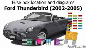 Fuse Box Location And Diagrams  Ford Thunderbird  2002-2005