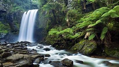 Waterfall Zen Wallpapers Backgrounds Wallpaperaccess Scenery