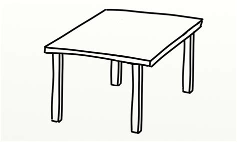 black and white table l table clipart 3759 free clipart images clipartwork