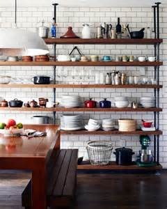 Floating Wall Cabinets by 65 Ideas Of Using Open Kitchen Wall Shelves Shelterness