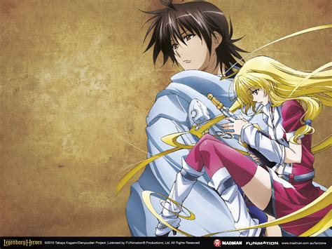Legend Of Anime Wallpaper - legend of the legendary heroes wallpapers madman